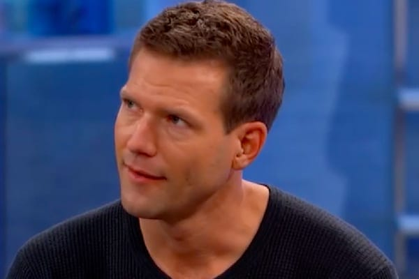 Dr. Travis Stork, the host of The Doctors, explaining that home DNA test kits aren't 100% accurate and should be for entertainment