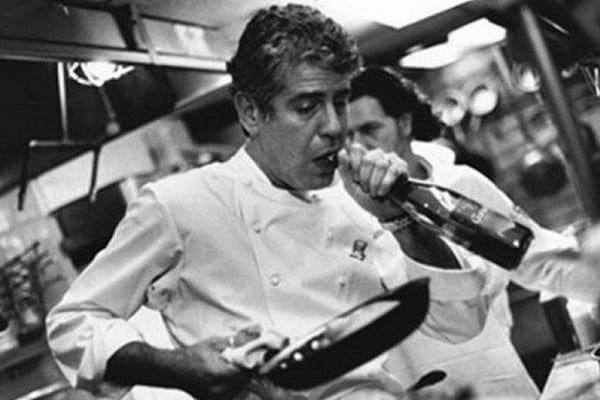 Anthony Bourdain was soon snapped up by major restaurants, and eventually became an executive chef
