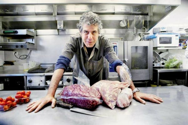 """Anthony Bourdain was not a fan of vegetarianism, and thought it was a """"first-world luxury"""""""