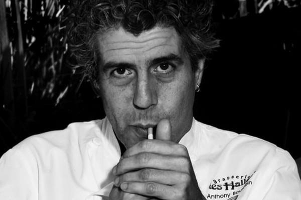 Anthony Bourdain struggled with drug and alcohol addiction and would spend his whole paycheck in one