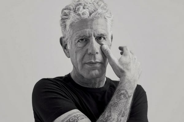 Anthony Bourdain eventually realized that his addictions were having a negative impact on his life