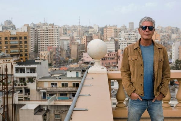 In 2006, Anthony was filming an episode of No Reservations when he was caught in the conflict between Lebanon and Israel
