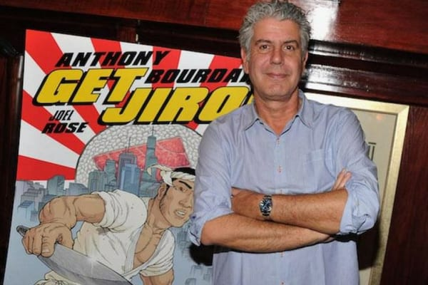 As well as being a talented chef, Anthony Bourdain was also a talented artist and illustrator