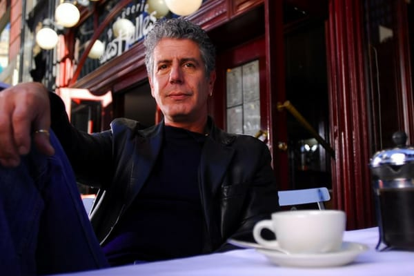 Anthony Bourdain made an effort to give Billy Joel the time of day, even though he hated his music