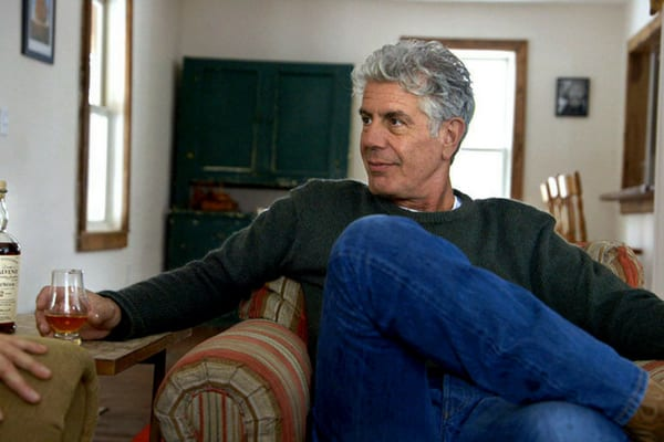 Anthony Bourdain was scared of three things; clowns, mimes, and nurses shoes