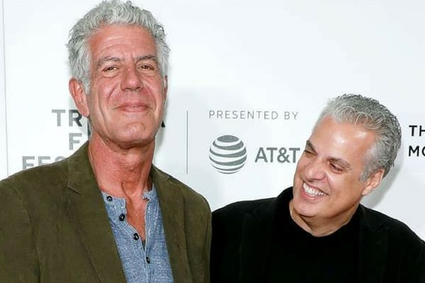 Anthony was good friends with Eric Ripert, who was in France when he sadly passed away