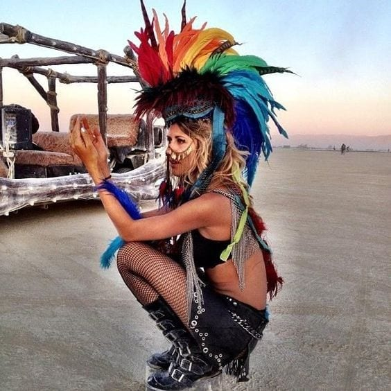 The Most Outrageous Outfits To Come Out Of Burning Man Outrageous Outfits From Burning Man